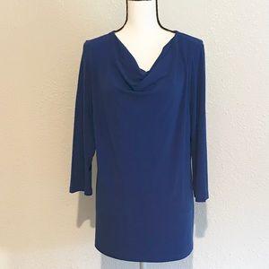 Susan Graver liquid knit tunic